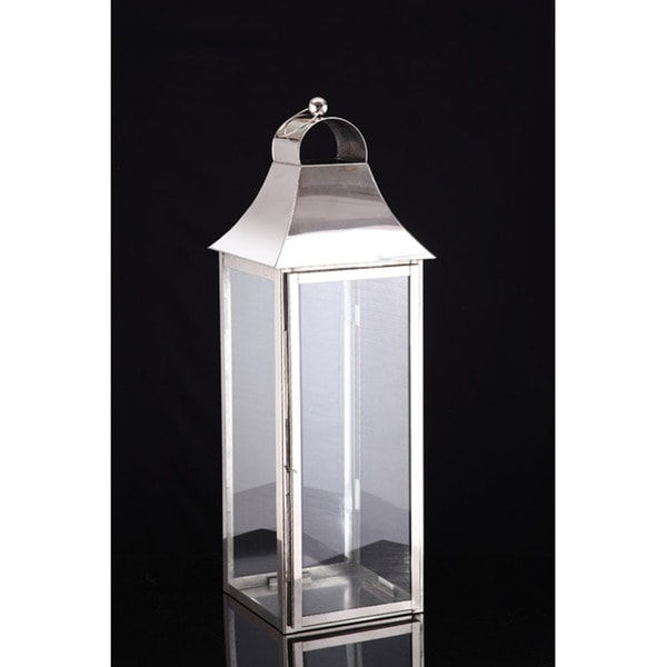 Large Square Candle Lantern Lamp