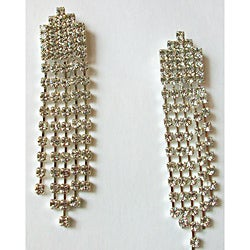 Elegant Crystal Dangle Earrings