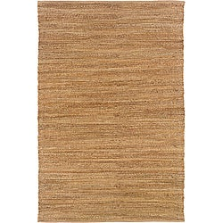 Natural Fiber Sahara Rectangle Jute Rug (5' x 7'9)
