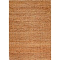 Natural Fiber Rectangle Jute Rug (5' x 7'9)