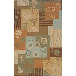 Orleans Multi Rectangle Rug (7'9 x 9'9)