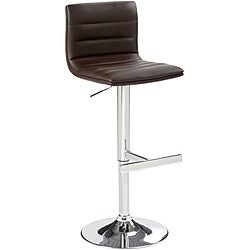 Sunpan Imports Motivo Brown Adjustable Barstool