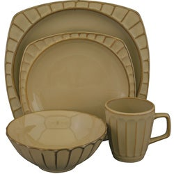 Sango 'Society Beige' 16-piece Dinnerware Set