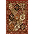 Panel Classic Red Non-skid Rug (1' 8 x 4'11)