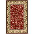 Sunshine Red Non-skid Rug (5' x 7')