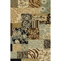 Patchwork Earth Non-skid Rug (2' x 6'10)