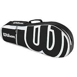 Wilson Advantage Triple Black/ White Tennis Bag