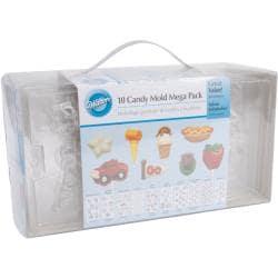 Candy Mold Set 10/Pkg