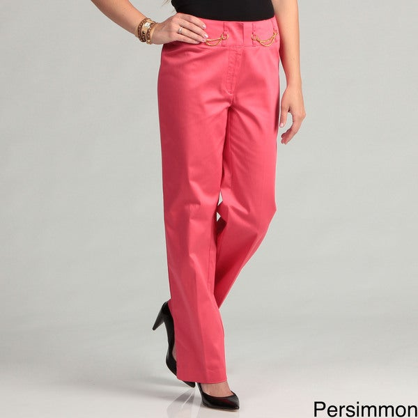 Appraisal Fun and Fashionable Vibrant Color Women's Pants