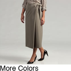 St. Marx Fashionable Career Wrap Skirt