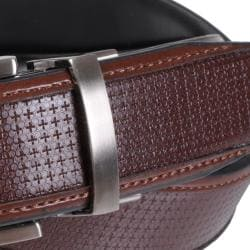 Geoffrey Beene Men's Soft Touch Reversible Leather Dress Belt