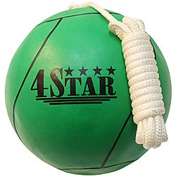 Defender Green Nylon/Rubber Size Seven Tether Ball and Rope Attachment
