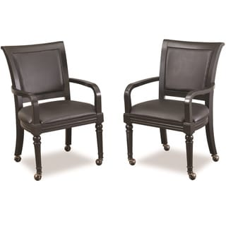 St Croix Black Game Chair (Set of 2)
