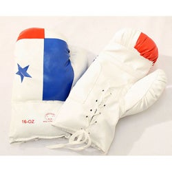 Defender 16-oonce Panama Flag Boxing Gloves