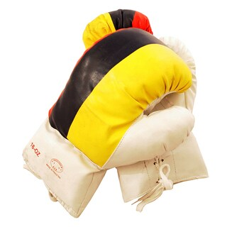 Defender 16-ounce Colombian Flag Boxing Gloves