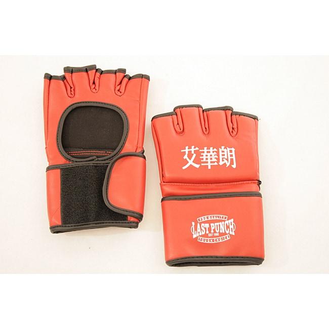 Defender Red MMA Medium UFC Style Training Gloves
