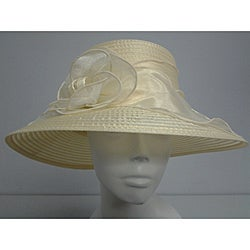 Swan Women's Butter Organza Crushable Bucket Hat