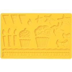 Kids Party Fondant And Gum Paste Silicone Mold