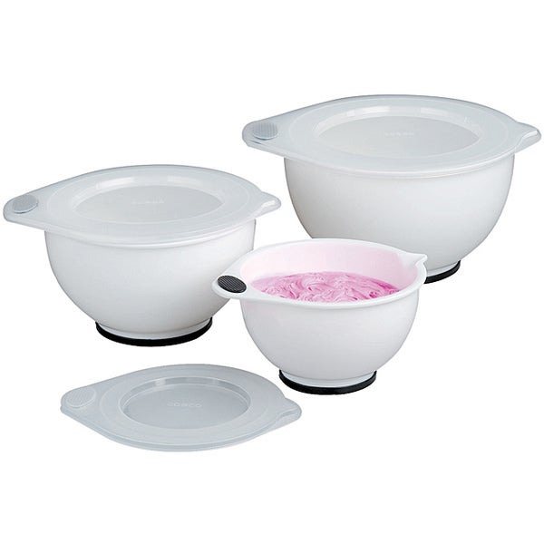 Covered Mixing Bowl Set (6 Pieces)