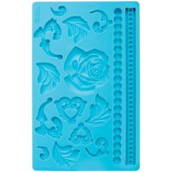 Fondant And Gum Paste Silicone Mold-Baroque