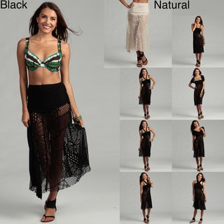 Water Water by Elan Mosaic Kint Multiwear Dress Swim Cover-Up