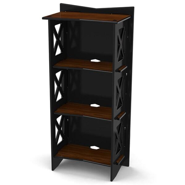 Legare 48 inches x 22 inches Bookcase, Ebony and Walnut