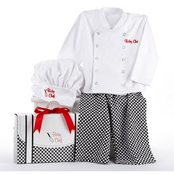 Baby Aspen Big Dreamzzz Baby Chef 3-piece Layette