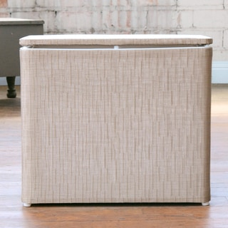 1530 LaMont Home Caprina Champagne Bench Hamper