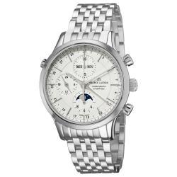 Maurice Lacroix Men's LC6078-SS002-13E 'Les Classiques Phase de Lune' Steel Watch