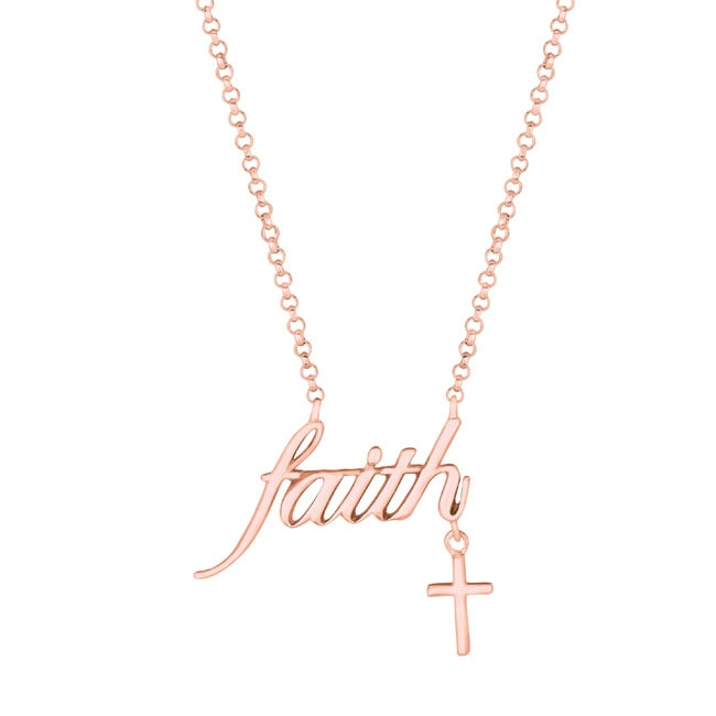 Expression Faith with Cross Necklace