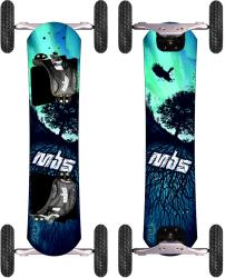 Comp 95 High-quality MBS Matrix Mountainboard with Eight-inch Wheels