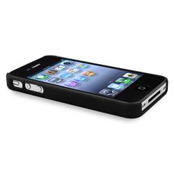 Black Diamond Gem Rear Snap-on Case for Apple iPhone 4/ 4S