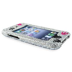 INSTEN Silver/ Dog Paw Snap-on iPod Case Cover for Apple iPod Touch Generation 2/ 3