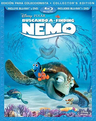 Finding Nemo (Spanish Package) (Blu-ray/DVD)