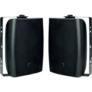 New Wave Audio OS-550 60 W RMS Indoor/Outdoor Speaker - 2-way - Black