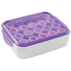 Decorate Smart Icing Color Organizer Case-White/Purple