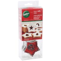Linzer Cookie Cutter Set 7/Pkg-Triangle