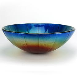 Fontaine Burning Flame Glass Vessel Sink