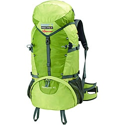 Alpinizmo by High Peak USA 45 Green Backpack