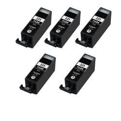 Canon PGI-225BK PGI 225 Compatible Black Ink Cartridge (5 Pack)