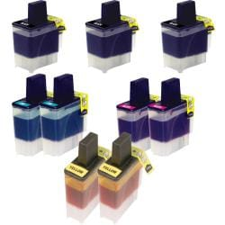 Brother LC41 Compatible Black / Color Ink Cartridge (Pack of 9)