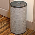 1530 LaMont Home Cambria Round Light Brown Hamper
