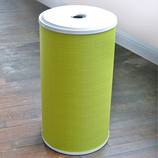 LaMont Home Lime Green Round Hamper