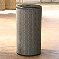 1530 LaMont Home Caprina Round Black Hamper