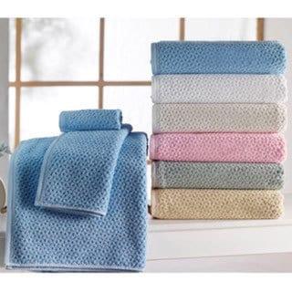 "Lucia Minelli ""Hardwick"" Embossed Jacquard 6-piece Towel Set"