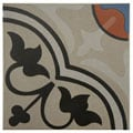 SomerTile 7x7-inch Grava Quatro And Centro Ceramic Floor and Wall Tile