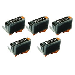 Canon PGi-5BK PGI 5 Compatible Black Ink Cartridge (Pack of 5)