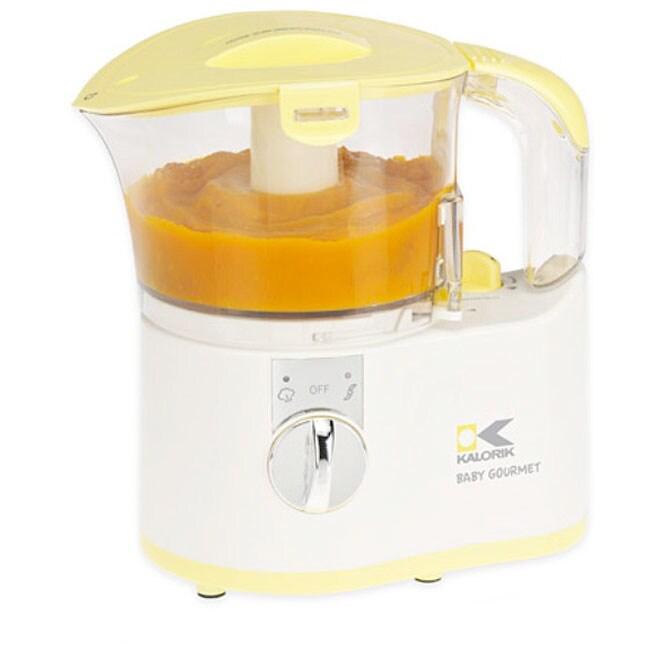 Kalorik Yellow Baby Food Maker (Refurbished)
