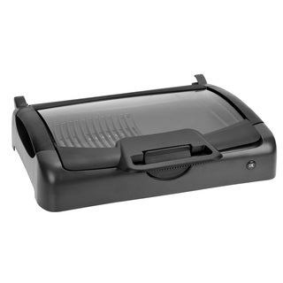 Kalorik Indoor/ Outdoor Carry Grill with Glass Lid