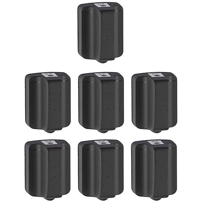 Hewlett Packard HP02 Black Ink Cartridge (Pack of 7) (Remanufactured)